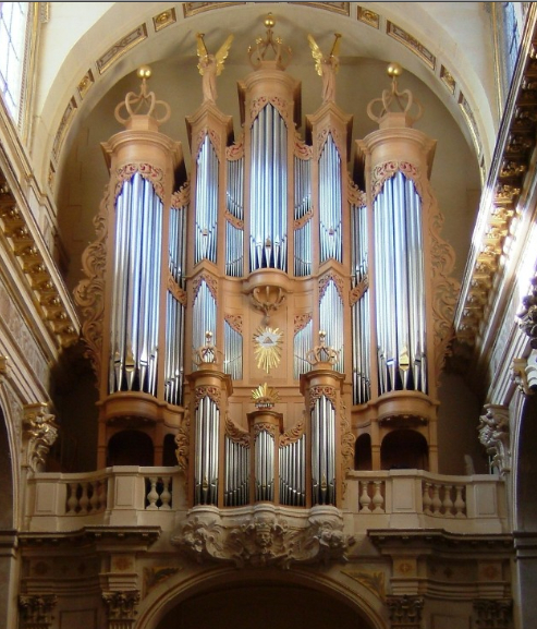 Orgue St-Louis en lIle Paris