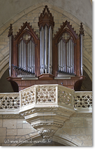 Marville orgue
